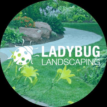Ladybug Landscaping Logo